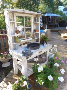 Phenomenal genius and low-budget DIY pallet garden bench for your beautiful . - Phenomenal genius and low-budget DIY pallet garden bench for your beautiful … -