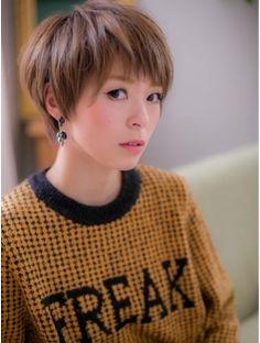カバーヘアアンドスパブリス 浦和店(COVER HAIR & SPA bliss)*+COVER HAIR+*…ツヤ色輝く☆ナチュラルショートb