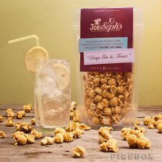 Gin and Tonic Gourmet Popcorn from Firebox.com