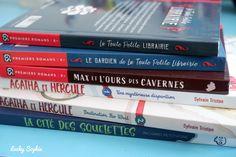 Premiers romans pour 8-9 ans #lecture #livre #roman #enfant #premiersromans #8ans #9ans Hercule, Agatha, Album Jeunesse, Le Far West, Lectures, Roman, Cave Bear, 9 Year Olds, Documentary