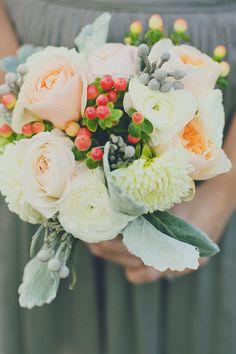 #bouquet  Photography: Our Labor of Love - ourlaboroflove.com Event Design + Planning: Lauren Wells Events - facebook.com/LaurenWellsEvents Floral Design: The Painted Tulip - paintedtulipvt.com