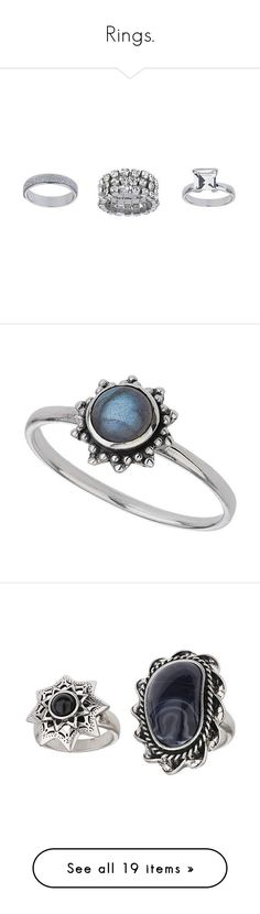 """""""Rings."""" by abbey-love-hewitt ❤ liked on Polyvore featuring jewelry, rings, clear, stretchy rings, clear jewelry, clear crystal ring, clear rings, topshop rings, accessories and grey"""