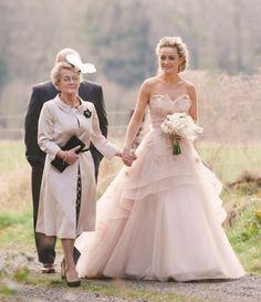 Top ten blush wedding dresses - 2014's biggest bridal trend | Confetti