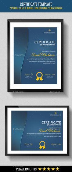 Certificate template Certificate, Template and Certificate design - certificate template software