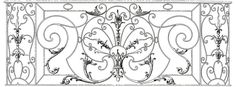Fancy French Iron Work Image! -