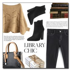 """""""Library Chic"""" by fashion-pol ❤ liked on Polyvore"""