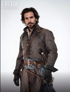 The Musketeers - BBC America. Series 2. Aramis played by Santiago Cabrera.