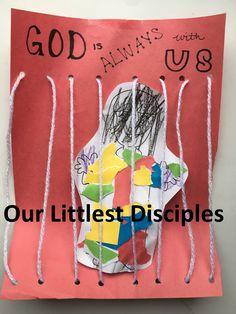 Joseph thrown in jail Bible Craft Activity Genesis 37–39 Five simple activities to teach the Bible stories