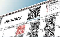 This date in history...with QR codes!