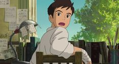 umi&shiro from up on poppy hill studio ghibli Totoro, Studio Ghibli Art, Studio Ghibli Movies, Hayao Miyazaki, Animation, Personajes Studio Ghibli, Nausicaa, Up On Poppy Hill, Japon Illustration