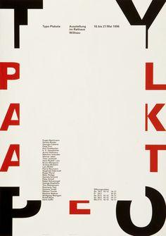 Niklaus Troxler, poster, typography