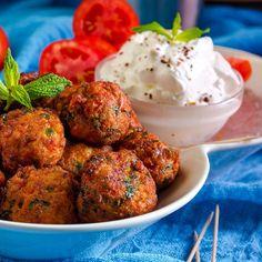 Ντοματοκεφτέδες – Το κεφτεδάκι του Healthy Lifestyle, Healthy Living, Ethnic Recipes, Yummy Yummy, Drinks, Santorini, Foods, Meals, Recipe