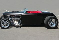 Classic Hot Rod, Classic Cars, Classic Style, Hot Rods, Vintage Cars, Antique Cars, Carros Audi, 32 Ford Roadster, Auto Retro