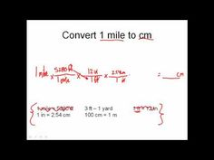 Solving Dimensional Analysis Problems - Unit Conversion Problems Made Easy! - YouTube