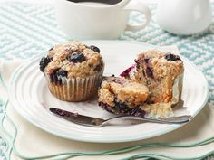 Healthy Blueberry-Carrot Muffins Recipe : Food Network Kitchen : Food Network - FoodNetwork.com