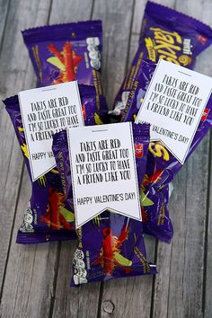 Takis Valentines For Kids