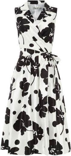 Love this: Floral Printed Shirt Dress @Lyst