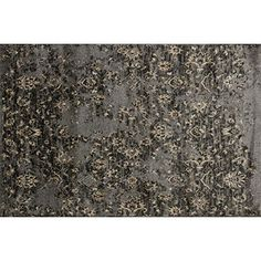 "Loloi Rugs Elton Collection Area Rug, 2'3"" by 3'9"", Pewter/Beige. The Elton Collection is designed to look like a modern version of yesterday's classics. This collection features intentionally distressed patterns that match well with contemporary to transitional spaces. Elton is power loomed in Egypt of 100% polypropylene for great durability and easy maintenance. Available in six sizes including a runner and a scatter."