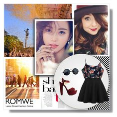 """""""Romwe 7/10"""" by elmahaskic ❤ liked on Polyvore featuring Charlotte Russe and romwe"""