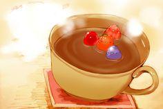 Chocolate bath / chai