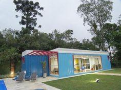 Arquiteto usa contêiner de navio para fazer casas ecológicas - Terra Brasil