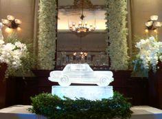 Car at Wedding | Full Spectrum Ice Sculptures