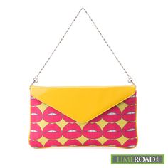 Sexy pop Art clutch = Love at first sight  Love it or Like it?