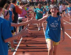 Girls on the Run - such a worthwhile program. And so much fun!
