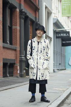 An Unknown Quantity   New York Fashion Street Style Blog by Wataru Bob Shimosato   ニューヨークストリートスナップ: February 2012