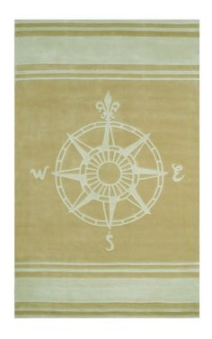 Complete Your Childu0027s Nautical Nursery Or Bedroom With The Classic Compass  Rug In Teal From Nejad