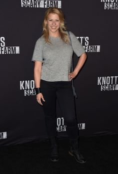 Jodie Sweetin  Knotts Scary Farm Opening Night in Buena Park CA Sep-2016 Celebstills J Jodie Sweetin