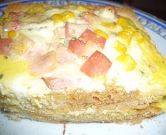 Zapečené tousty - recept | Varecha.sk Hawaiian Pizza, Cooking, Food, Decor, Kitchen, Decoration, Essen, Meals, Decorating