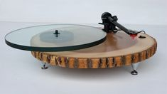 Audiowood Barky Turntable par Joel Scilley