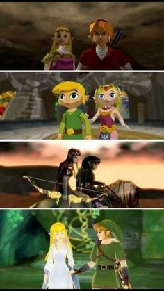 OOT, WW, TP, and SS