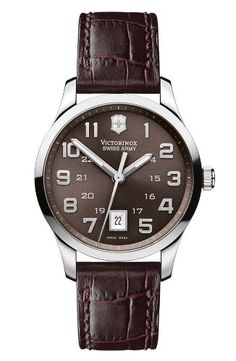 Victorinox Swiss Army Mens 241323 Classic Alliance Dial Watch *** Continue to the product at the image link. (This is an Amazon affiliate link)