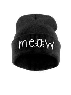 2eb3a0cb408 Fold Up Letters Beanie Hat