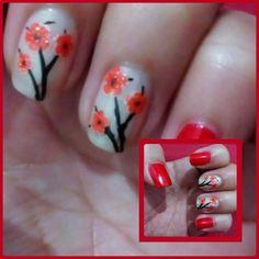 Rojo+flores #Path