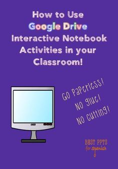 If you like interactive notebooks but don't like the cutting and pasting, you will love Google Drive Interactive Notebook Activities. They provide all the benefits of cut & paste INBs without the messiness and lost instructional time - see some examples.