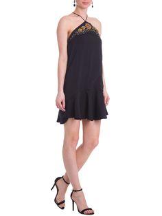 Shop2gether - Vestido Flor - Animale - Preto