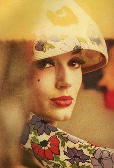 """Saul Leiter Model Simone, for """"Haper's Bazaar"""" 1959"""