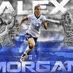 Alex Morgan edit  @alexmorgan13 #alexmorgan #uswnt #ussoccer #usa #soccer #edit