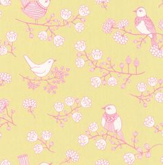 Sugar Tree Chartreuse wallpaper by Majvillan