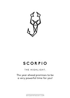 Happy 2017, Scorpio! The year ahead promises to be a very powerful time for you! Keys to keep in mind revolve around taking good care of yourself in a deep way and investing in key relationships....