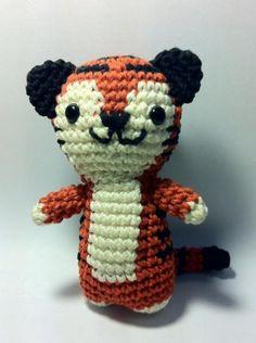 tigre amigurumi  lana amigurumi