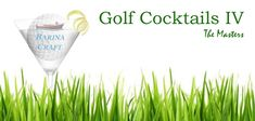 Golf cocktails & themed drinks inspired by the Masters, Ryders & Presidents cup tournaments and players. Ever had an Arnold Palmer? Recipes at http://homebars.barinacraft.com/post/32522149081/masters-inspired-golf-cocktails-themed-drinks #golf #cocktails #drinks