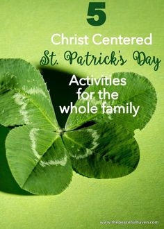 Christ centered st. patrick's day