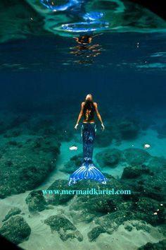 Mermaid Kariel photographed by Alicia Franco at Yokohoma Bay in 2010