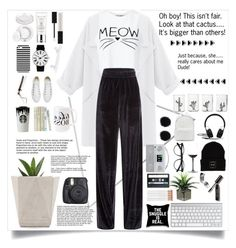 """""""Oh dear! It's not true. I just want to fill the empty space!xx"""" by allaboutno ❤ liked on Polyvore featuring Menu, Miss Selfridge, Vetements, Estée Lauder, Gucci, Casetify, Seletti, Rosendahl, GHD and Converse"""