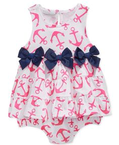 Aria would look so cute with this on! Representing dad with the anchors :)