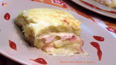 Pastel de jamón y queso!!!